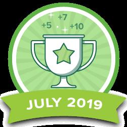 Points Contest - Jul 2019