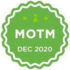 MOTM - Dec 2020