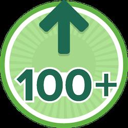 100 Kudos