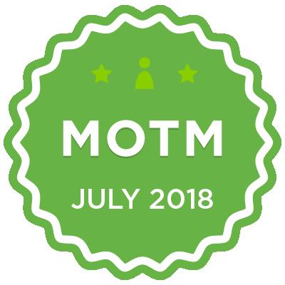 MOTM - July 2018