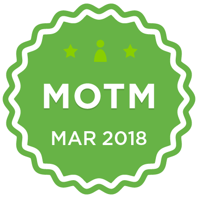MOTM - Mar 2018