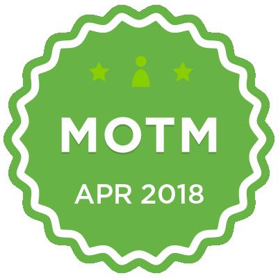 MOTM - Apr 2018