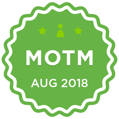 MOTM - Aug 2018