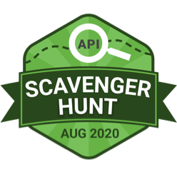 API Scavenger Hunt - Aug 2020