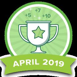 Points Contest - Apr 2019