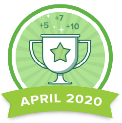 Points Contest - Apr 2020