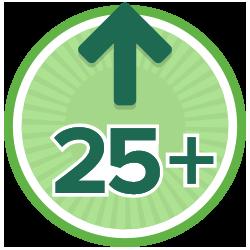 25 Kudos