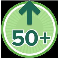 50 Kudos