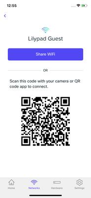 Printable QR Codes for customer WiFi