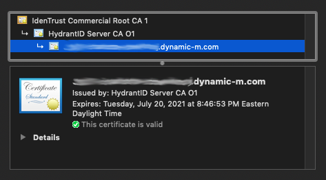 MX running 16.7 software