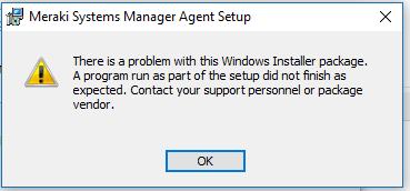 Meraki install error.PNG