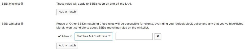 SSID Whitelist