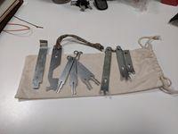 Cabinet work bag