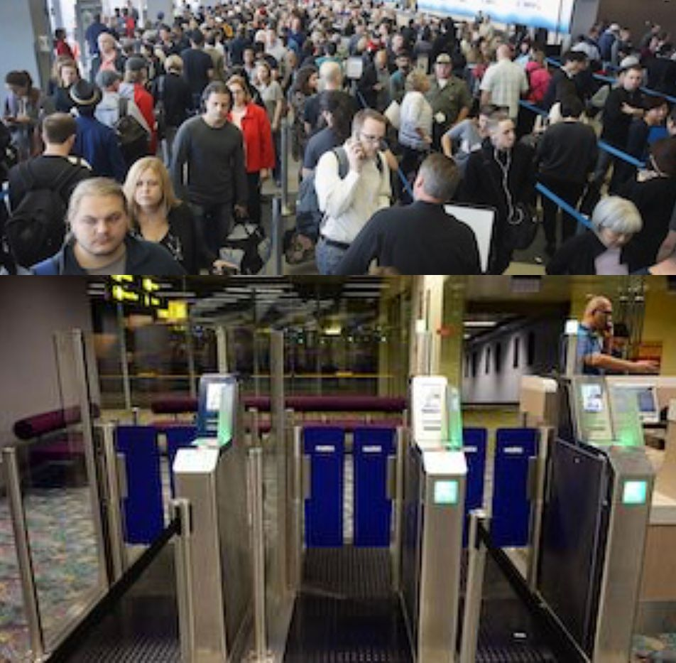 A VLAN is like having several types of VIP plane boarding lines instead of one big line where no one has priority.