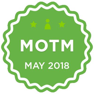 MOTM - May 2018