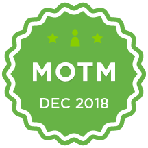 MOTM - Dec 2018
