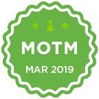 MOTM - Mar 2019