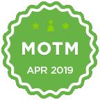 MOTM - Apr 2019