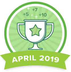 Points Contest - Apr 2019