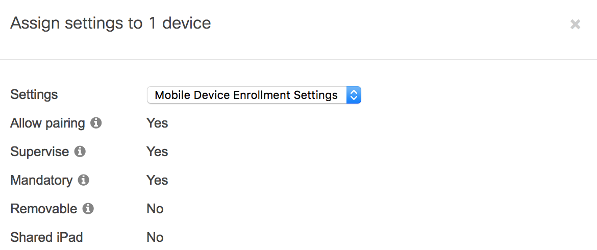 Solved: NEW Meraki MDM Deployment - iTunes and iCloud
