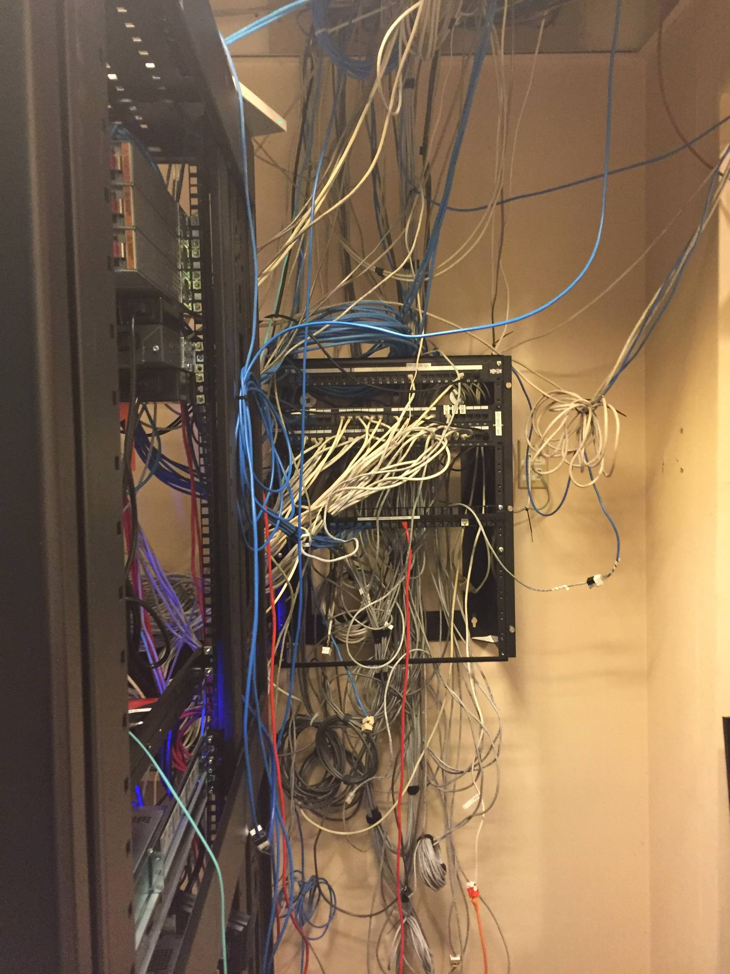 Happy New Year What Are Your Networking Resolutions The Meraki Wiring Closet Mess Community