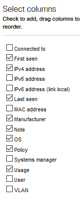 MX64 - how to identify which mac addresses is attached to which