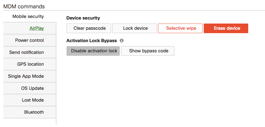 Solved: Disable factory reset protection - The Meraki Community
