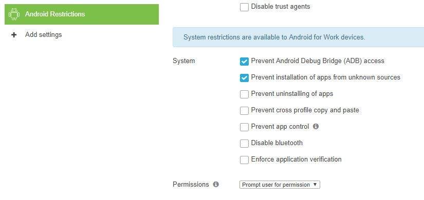 Android Apps via Backpack in Meraki MDM - The Meraki Community