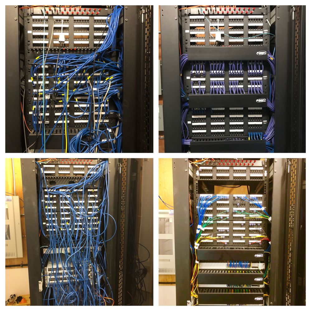 Before & After IDF Cleaning