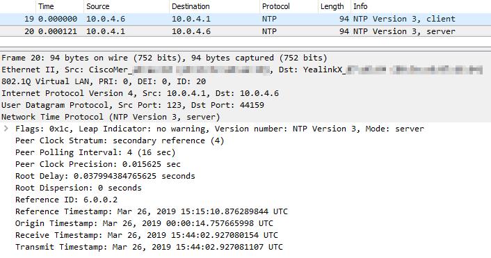Solved: NTP server - The Meraki Community