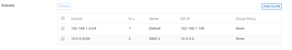 Client VPN don´t ping any local IP - The Meraki Community