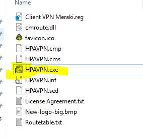 Best practice to deploy Meraki client VPN to laptops? All