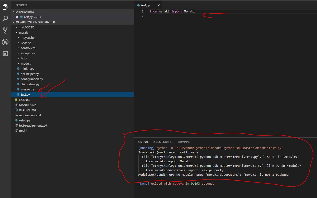 Solved: Meraki Python SDK - The Meraki Community