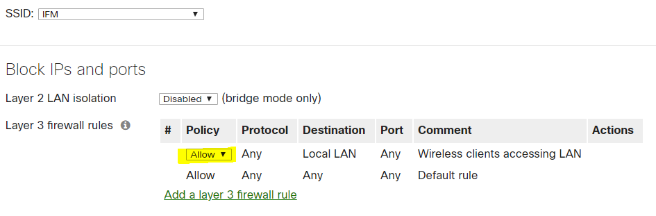 Solved: Voice setup on Meraki for Jive Voice (YeaLink) - The