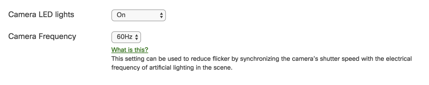 Solved: Possible interference from fluorescent lighting MV21