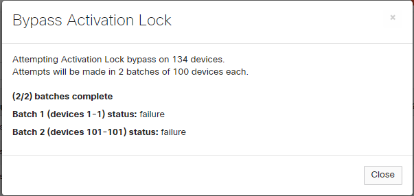 Solved: Activation Locked iPads - The Meraki Community