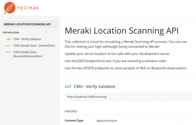 Solved: Response other than 200 - scanning API - The Meraki